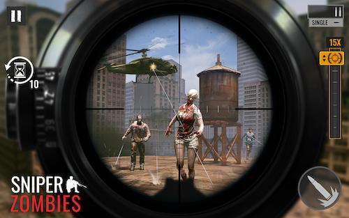 Sniper Zombies Ekran Görüntüleri - 1