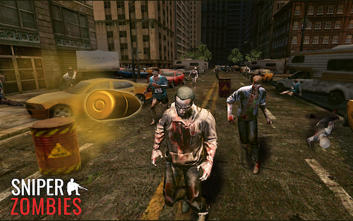 Sniper Zombies Ekran Görüntüleri - 4