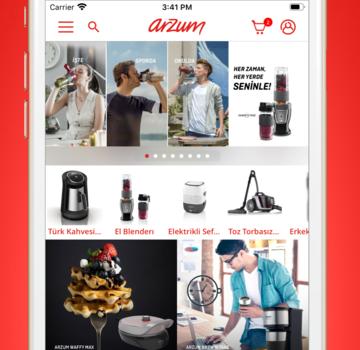 Arzum Online Alışveriş Ekran Görüntüleri - 1