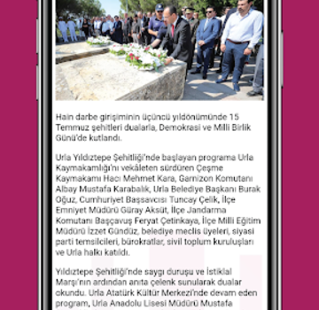 Urla Belediyesi Ekran Görüntüleri - 2