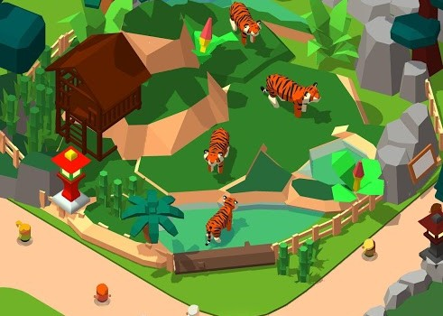 Idle Zoo Tycoon 3D - 1