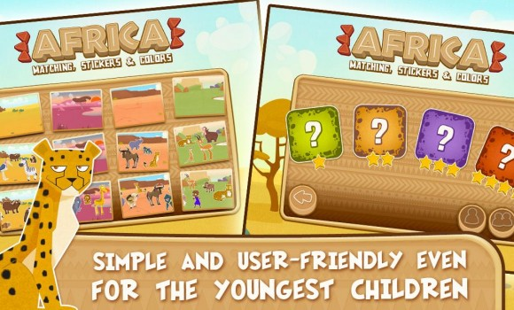 Africa Games for Kids Ekran Görüntüleri - 3