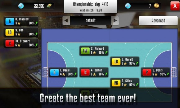 Handball Manager Ekran Görüntüleri - 2