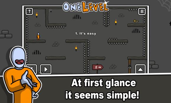 One Level: Stickman Jailbreak Ekran Görüntüleri - 1