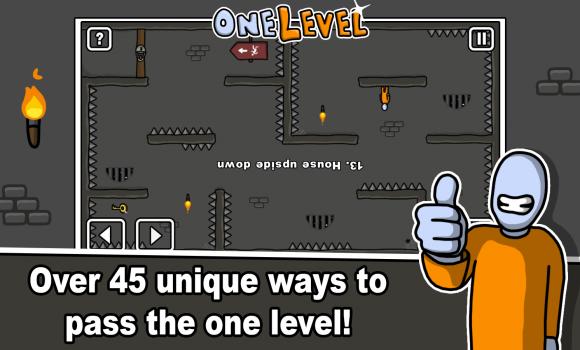 One Level: Stickman Jailbreak Ekran Görüntüleri - 2