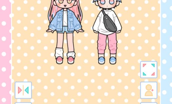 Pastel Friends : Dress Up Game Ekran Görüntüleri - 2