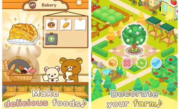Rilakkuma Farm Ekran Görüntüleri - 3