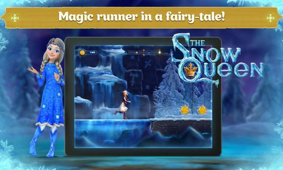Snow Queen: Frozen Fun Run Ekran Görüntüleri - 1