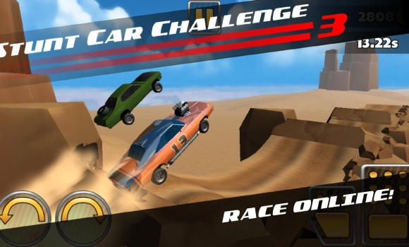 Stunt Car Challenge 3 Ekran Görüntüleri - 1