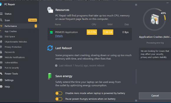 PC Repair Tool Ekran Görüntüleri - 1