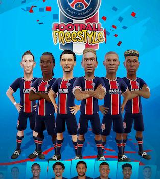 PSG Football Freestyle Ekran Görüntüleri - 1