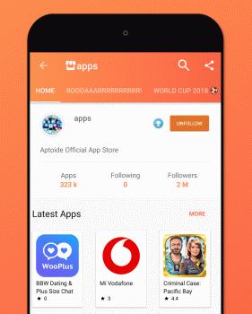 Aptoide Ekran Görüntüleri - 1