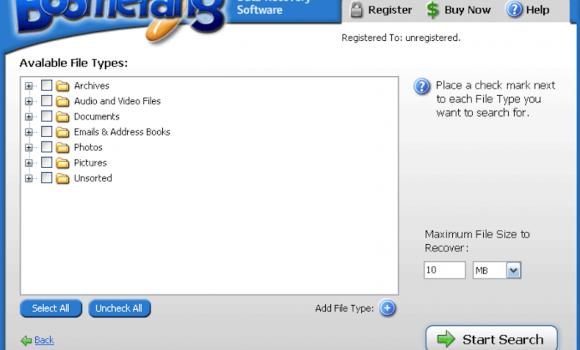 Boomerang Data Recovery Ekran Görüntüleri - 5