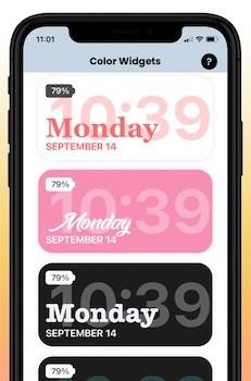 Color Widgets Ekran Görüntüleri - 1