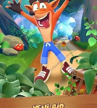 Crash Bandicoot: On the Run! Ekran Görüntüleri - 1