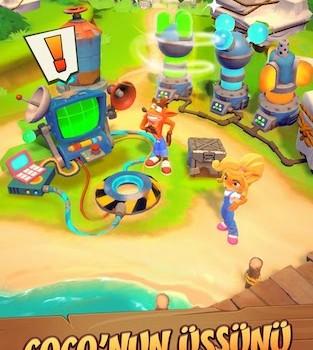 Crash Bandicoot: On the Run! Ekran Görüntüleri - 4