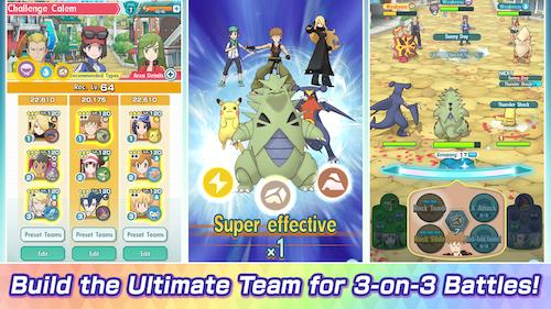 Pokémon Masters EX Ekran Görüntüleri - 4