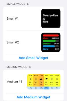 Widgetsmith Ekran Görüntüleri - 7
