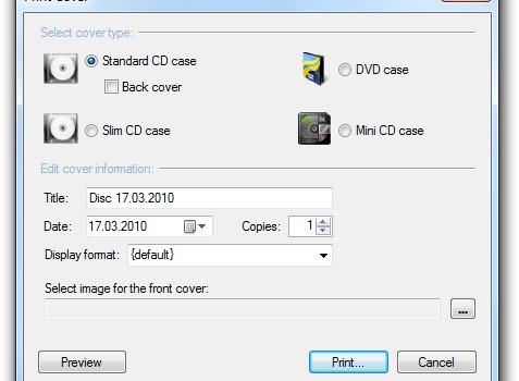 CDBurnerXP Ekran Görüntüleri - 2
