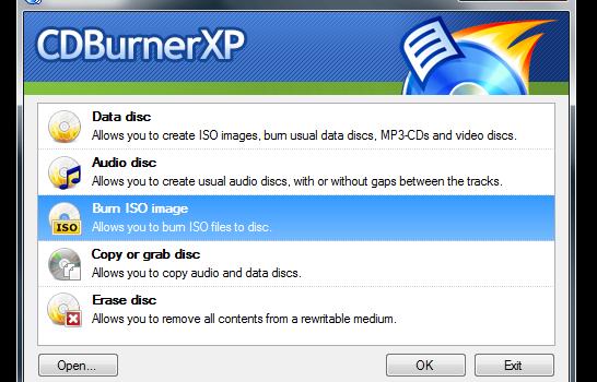 CDBurnerXP Ekran Görüntüleri - 7