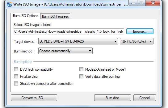 CDBurnerXP Ekran Görüntüleri - 9