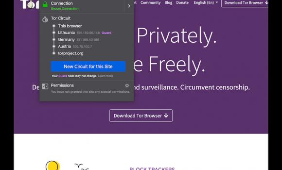 Tor Browser Ekran Görüntüleri - 1
