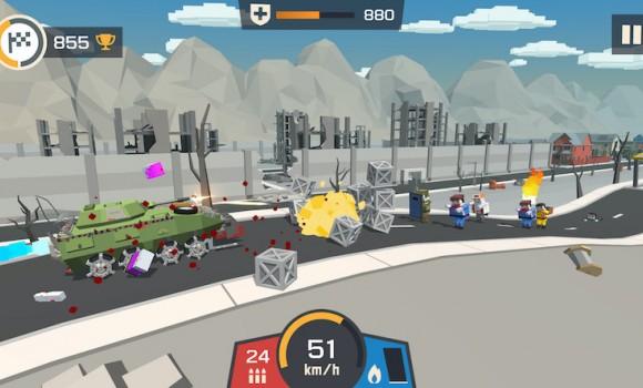 Zombie Derby Pixel Survival Ekran Görüntüleri - 5