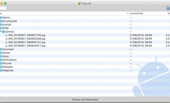 Android File Transfer Ekran Görüntüleri - 2