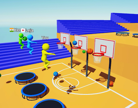 Jump Dunk 3D Ekran Görüntüleri - 1