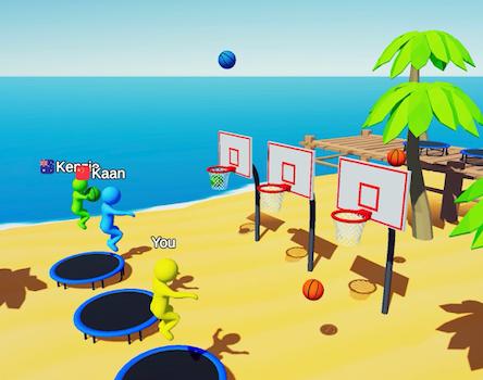 Jump Dunk 3D Ekran Görüntüleri - 3