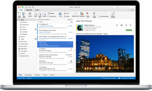 Office for Mac Ekran Görüntüleri - 4