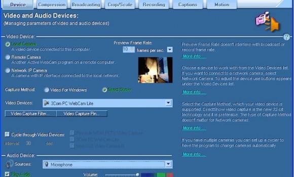 Active WebCam Ekran Görüntüleri - 5
