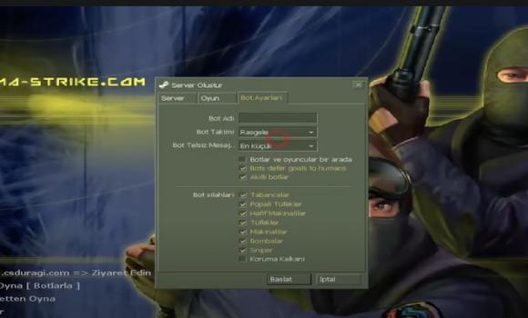 Counter Strike 1.6 Türkçe Yama Ekran Görüntüleri - 2