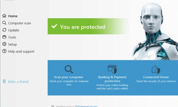 ESET Internet Security Ekran Görüntüleri - 1