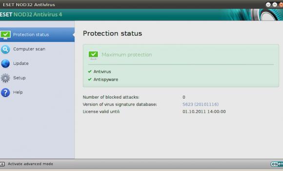 ESET NOD32 Antivirus Ekran Görüntüleri - 1