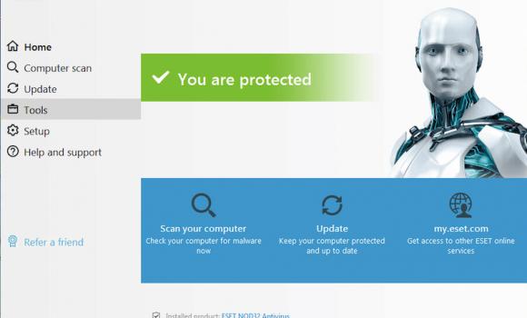 ESET NOD32 Antivirus Ekran Görüntüleri - 4