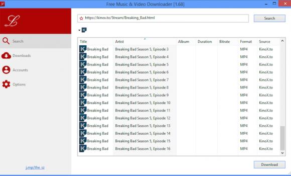 Free Music Downloader Ekran Görüntüleri - 3