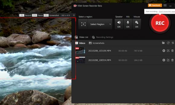 IObit Screen Recorder Ekran Görüntüleri - 2