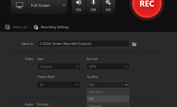 IObit Screen Recorder Ekran Görüntüleri - 6