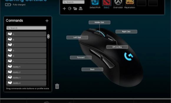 Logitech Gaming Software Ekran Görüntüleri - 3