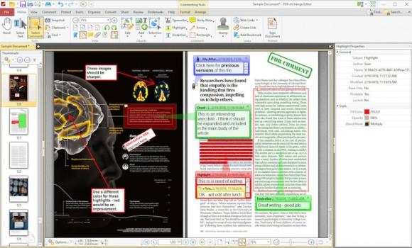 PDF-XChange Editor Ekran Görüntüleri - 3