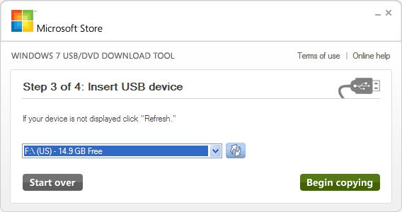 Windows 7 USB/DVD Download Tool Ekran Görüntüleri - 6