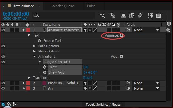 Adobe After Effects Ekran Görüntüleri - 3