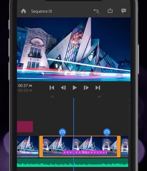 Adobe Premiere Rush Ekran Görüntüleri - 2