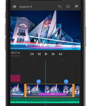 Adobe Premiere Rush Ekran Görüntüleri - 5