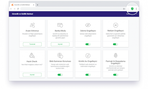 Avast Secure Browser Ekran Görüntüleri - 5