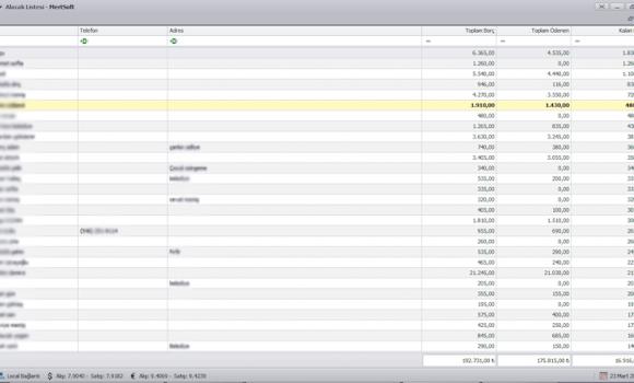 Mertsoft Kasa Defteri Ekran Görüntüleri - 2