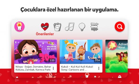 YouTube Kids Ekran Görüntüleri - 5