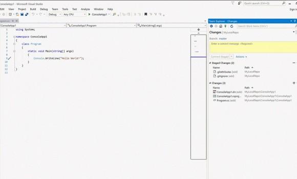 Microsoft Visual C++ 2010 Ekran Görüntüleri - 2