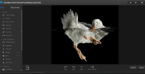 Adobe Photoshop Express Editor Ekran Görüntüleri - 1